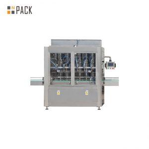 PLC Control 10 głowicowa maszyna do napełniania butelek grawitacyjnych do 1 - 5L wybielacza