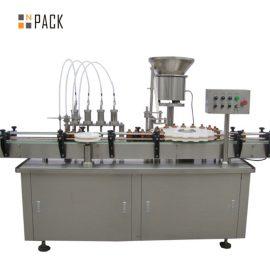 5-100 ml próżniowej maszyny do napełniania i zamykania perfum o dużej pojemności z wkładką zaworową
