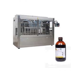Weterynaria Linia do napełniania butelek z płynem / żrąca linia do napełniania płynów