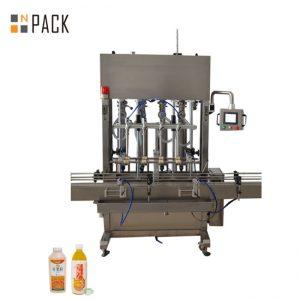 10 głowicowa maszyna do napełniania pasty Szeroki zakres napełniania dla płynów o niskiej / wysokiej lepkości