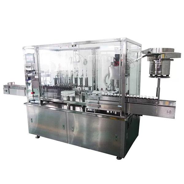 8 Automatyczna maszyna do napełniania i zamykania syropu głowy do farmaceutycznej linii produkcyjnej