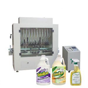 Dezynfekujący płyn do dezynfekcji rąk i maszyna do napełniania płynów alkoholowych