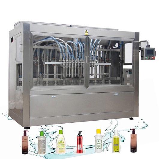 Odporna na korozję automatyczna linia do napełniania płynów do prania Maszyna do napełniania detergentów