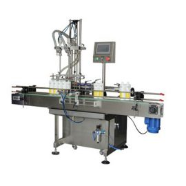 Detergentowa dwugłowicowa maszyna do napełniania płynem 0,5-2L