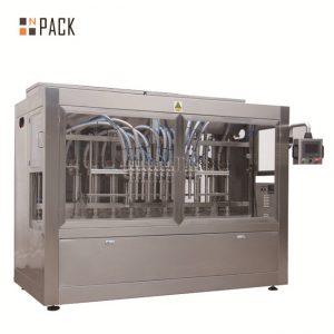 Tłokowa serwo-maszyna do napełniania / w pełni automatyczna liniowa maszyna do napełniania z systemem rozwijanym