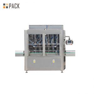 Linia do napełniania butelek na kapsułki z liczoną maszyną i maszyną do wkładania bawełny