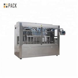 12 głowic tłokowa maszyna do napełniania serwa maszyna do napełniania 50BPM Prędkość napełniania