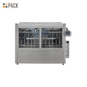 PLC Control Automatyczna maszyna do napełniania pasty do mydła w płynie / balsamu / szamponu 250ML-5L