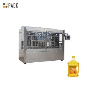 Przepływowe maszyny do napełniania ze stali nierdzewnej, automatyczna maszyna do napełniania na podstawie czasu