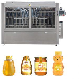 Sterowanie PLC Linia do napełniania słoików z miodem Automatyczna linia do napełniania płynów GMP Standard