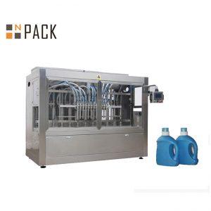 Automatyczna maszyna do napełniania płynnych detergentów, linia do napełniania mydła w płynie z napełniaczem tłokowym
