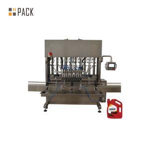 Wysokoprecyzyjna maszyna do napełniania olejem silnikowym 8 dysz dla przemysłu mechanicznego