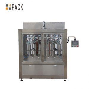 Linia do napełniania butelek do czyszczenia z antykorozyjnym napełniaczem do butelek grawitacyjnych i obrotową maszyną do zamykania
