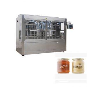 Sterownik PLC 8 dysz Maszyna do napełniania pastą, maszyna do napełniania słoików szklanych 400G