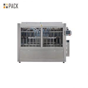 Linia do napełniania kremowych past do napełniania butelek z 10 dyszami Wolumetryczna maszyna do napełniania tłoków