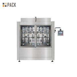 4 głowice Automatyczna maszyna do napełniania płynem / Maszyna do napełniania olejem smarowym do dużego pojemnika
