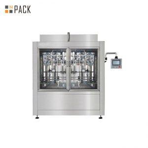 Sterowana PLC Stabilna maszyna do napełniania pastą Wysoka precyzja dla wysokiej lepkości