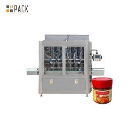 Odporność na ścieranie Maszyna do napełniania sosów Maszyna do napełniania dżemów Stal nierdzewna 304