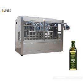 Wysokowydajna maszyna do napełniania kokosowego / oliwy z oliwek Bez wycieków z serwonapełniaczem