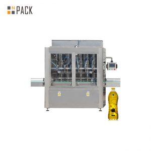 Automatyczna maszyna do napełniania tłoków 30-80 B / MIN 8 głowic Liniowy serwomotor do 0,5-5L