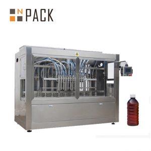 Odporna na kurz automatyczna maszyna do napełniania pastą do organicznego nawozu w płynie / bio
