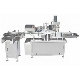 W pełni automatyczna maszyna do napełniania i zamykania fiolek szklanych / plastikowych butelek 3 ml-120 ml