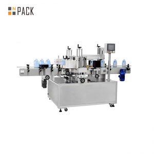 Samoprzylepna automatyczna maszyna do etykietowania butelek do etykiet na panelu przednim i tylnym