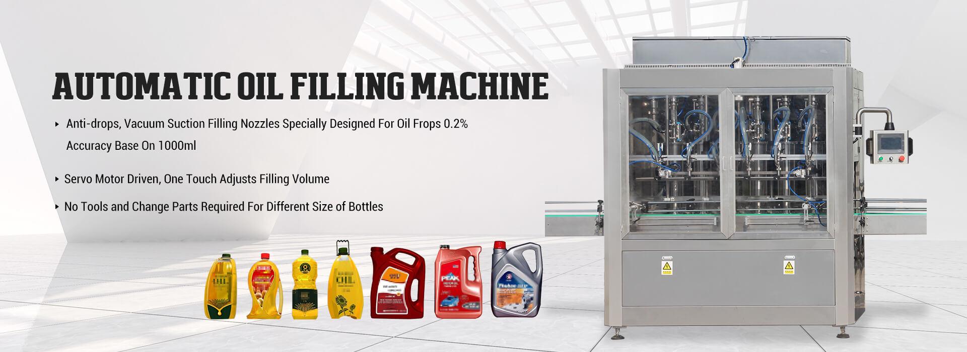 Maszyna do napełniania olejem