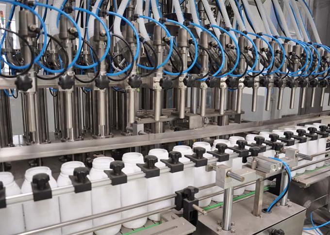 Sterownik PLC Linia do napełniania detergentów do prania o wysokiej wydajności produkcji