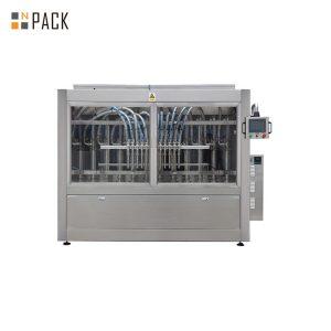 Automatyczna maszyna do napełniania płynów pod klucz automatyczna liniowa od 2 do 24 głowic butelek z pastą pomidorową
