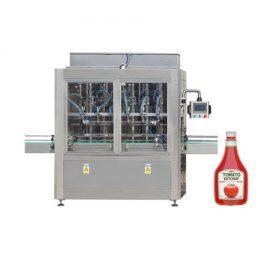 Maszyna do napełniania keczupem i oliwą z tłokiem
