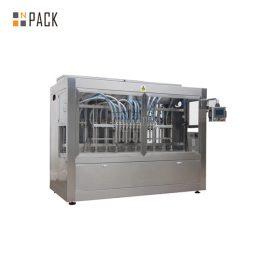 Automatyczna maszyna do napełniania butelek z płynem z linią produkcyjną do zamykania etykiet