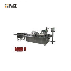 Maszyna do napełniania pasty sterującej silnikiem, maszyna do napełniania kremów kosmetycznych 5g-100g
