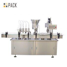 Maszyna do napełniania płynów w sprayu do fiolek Automatyczne urządzenie do napełniania butelek Trwałe