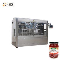 Automatyczna maszyna do napełniania pastą do przypraw, maszyna do napełniania sałatek tłokowych 350G