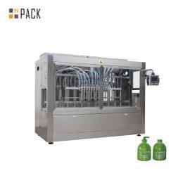 Linearna 1L zmywarka do butelek PET Linia do napełniania butelek z urządzeniem do rozszyfrowywania butelek